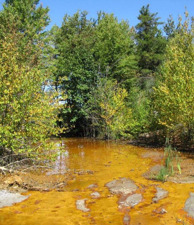 No-one likes a yellow stream